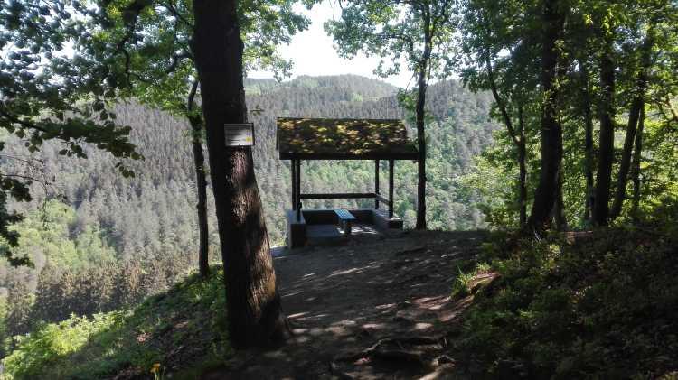 Point de vue Drouet, vallée du Ninglinspo