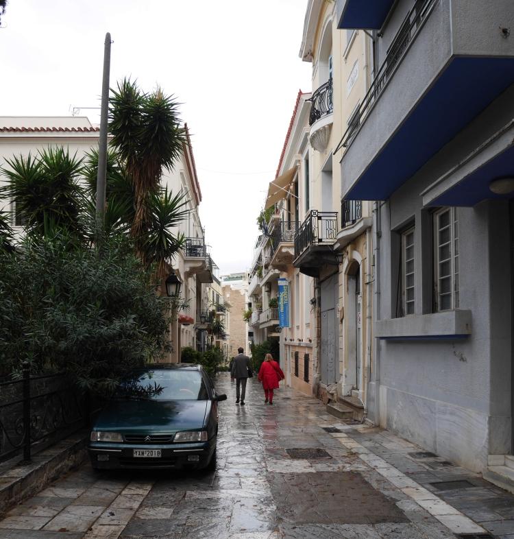 Ruelle dans Plaka, Athènes