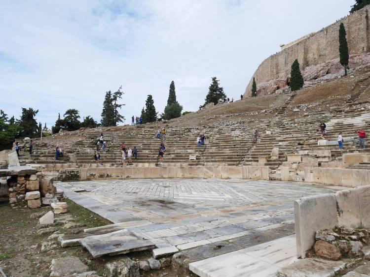 Théatre de Dionysos Athènes