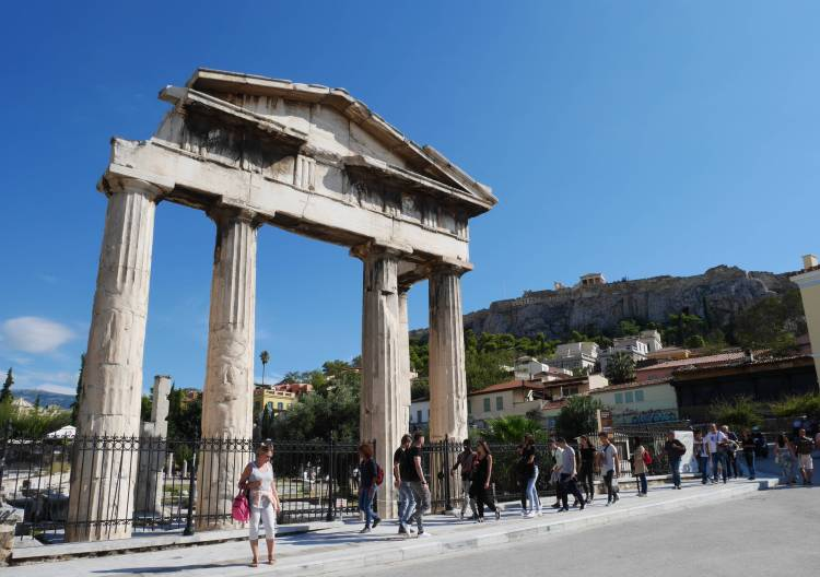 Agora romaine, Athènes