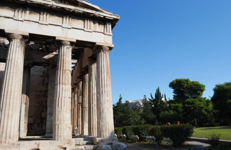 Héphaïsteion, agora antique à Athènes.