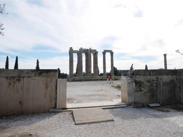Olympéion, Athènes