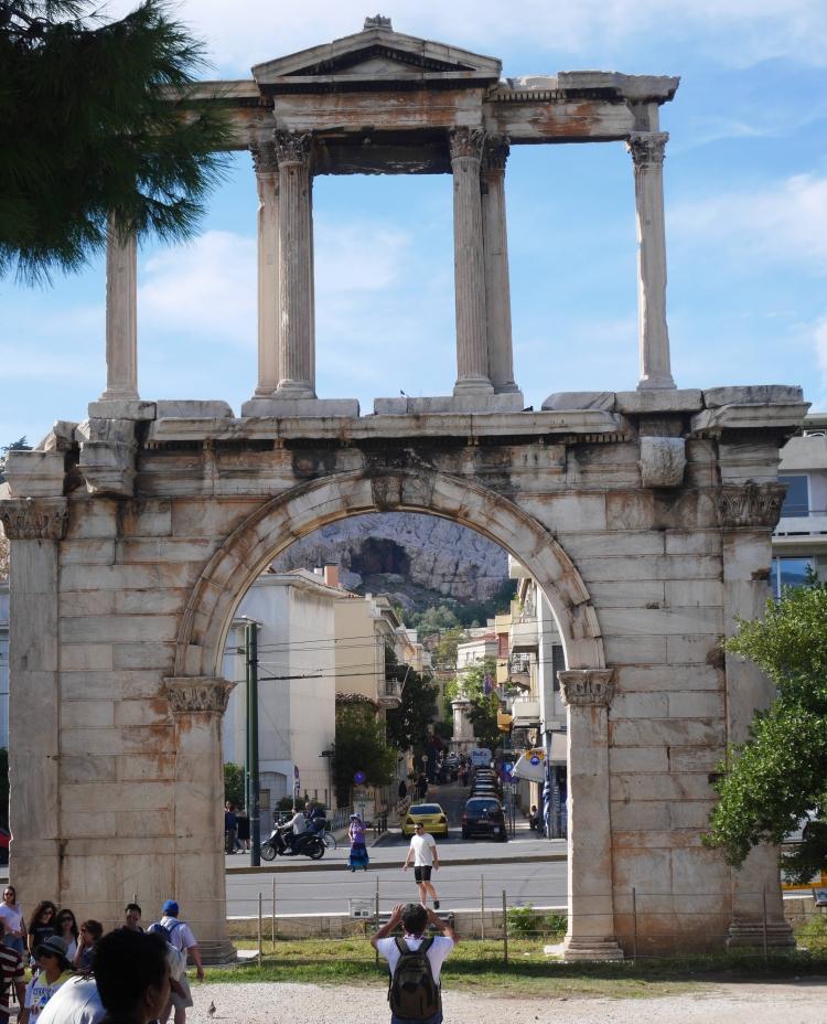 Porte d'Hadrien, Athènes