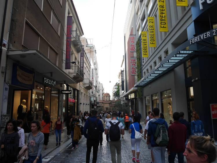 Rue Ermou, Athènes
