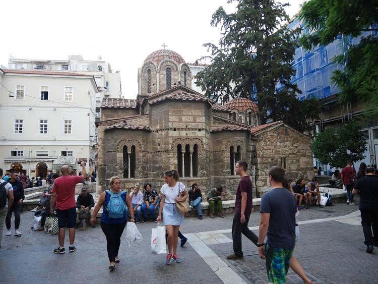 Eglise Kapnikarea, Athènes