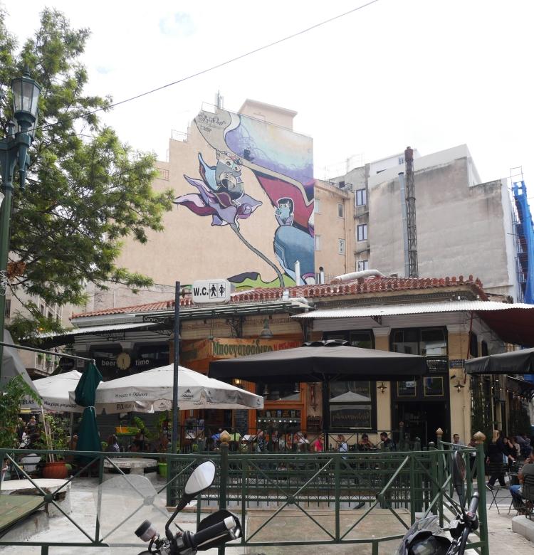 Place Iroon, Athènes