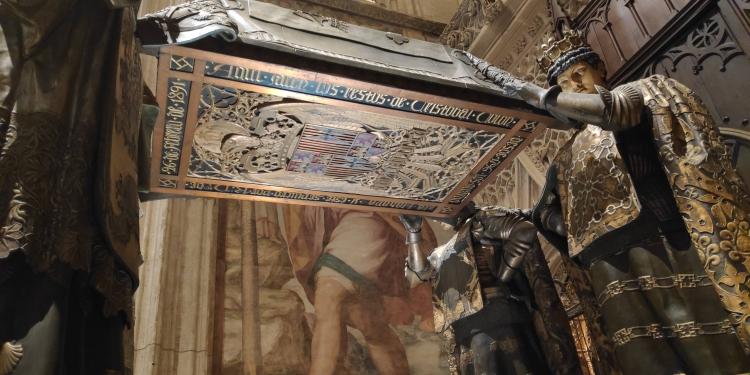 Tombeau Christophe Colomb à Séville