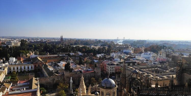 Vue Séville depuis Giralda