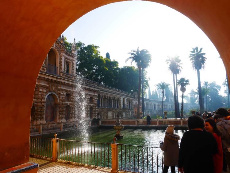 Jardins de l'Alcazar, Séville, Espagne