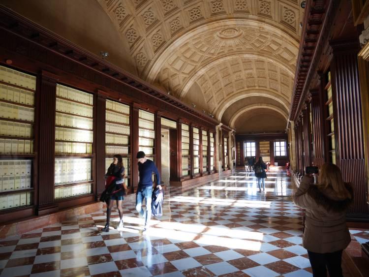 Archives générales des indes, Séville, Espagne