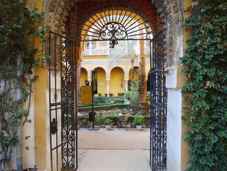 Palacio de las Duenas, Séville, Espagne