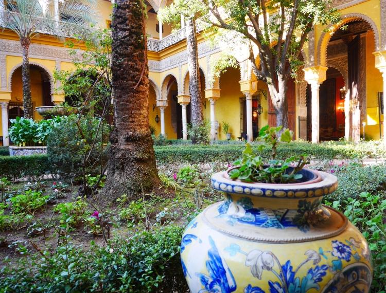 Palacio de las Duenas, Séville, Andalousie