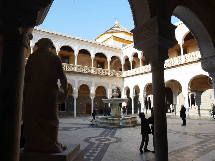 Séville, Casa de Pilatos