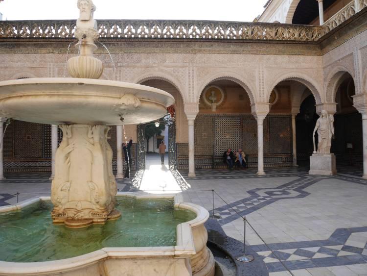 Séville, Andalousie, Casa de Pilatos