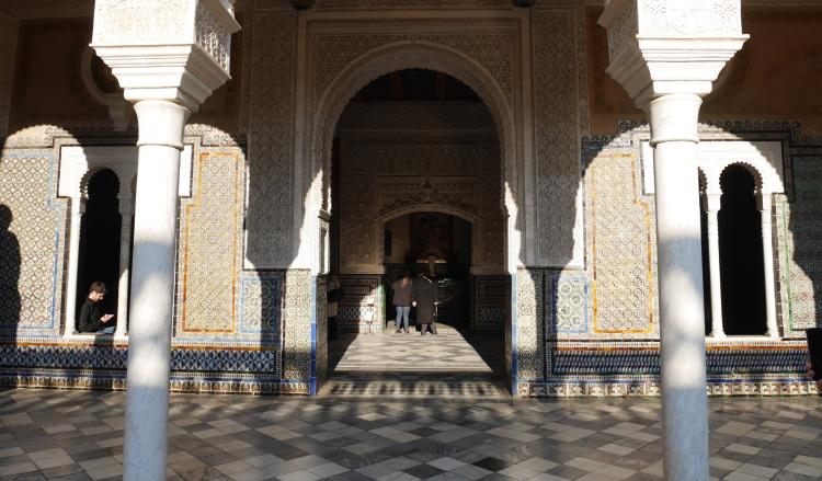 Andalousie, Casa de Pilatos à Séville