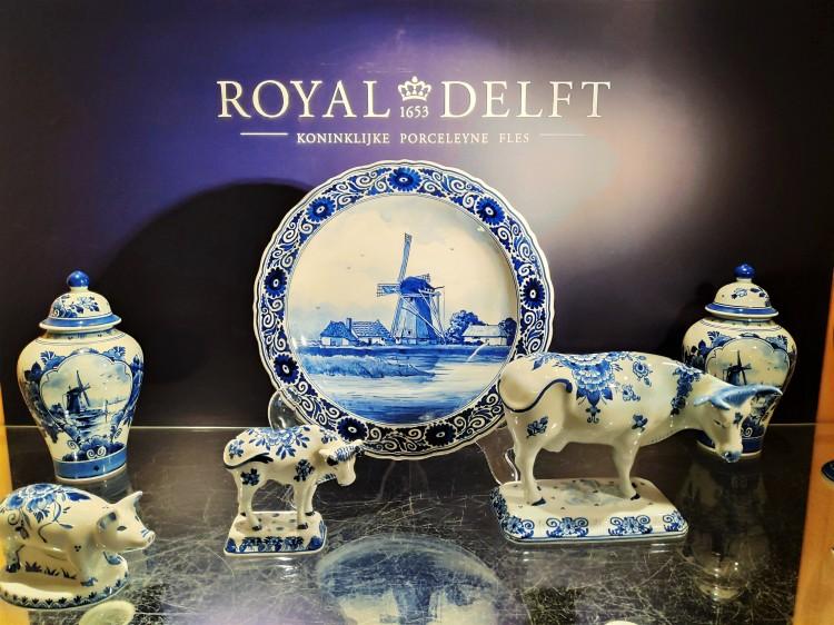 Objet en Bleu de Delft chez Royal delft