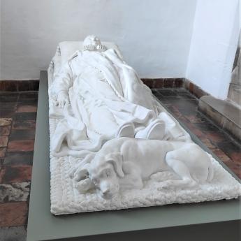 Guillaume Le Taciturne et son chien, Musée Prinsenhof