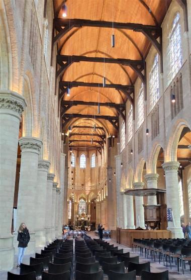 Intérieur de Nieuwe Kerk à Delft