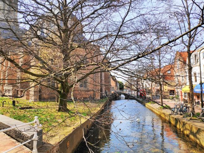 Canal à Delft