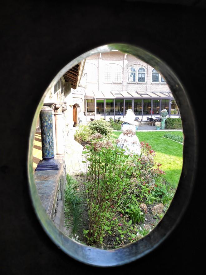 Vue cour intérieure Royal Delft