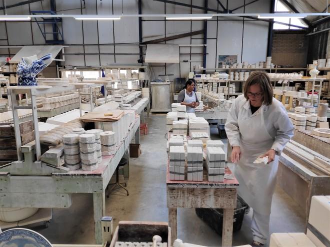 Visite atelier de fabrication Royal Delft