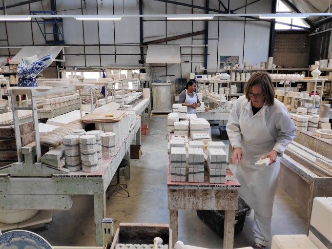 Visite atelier de fabrication Royal Delft