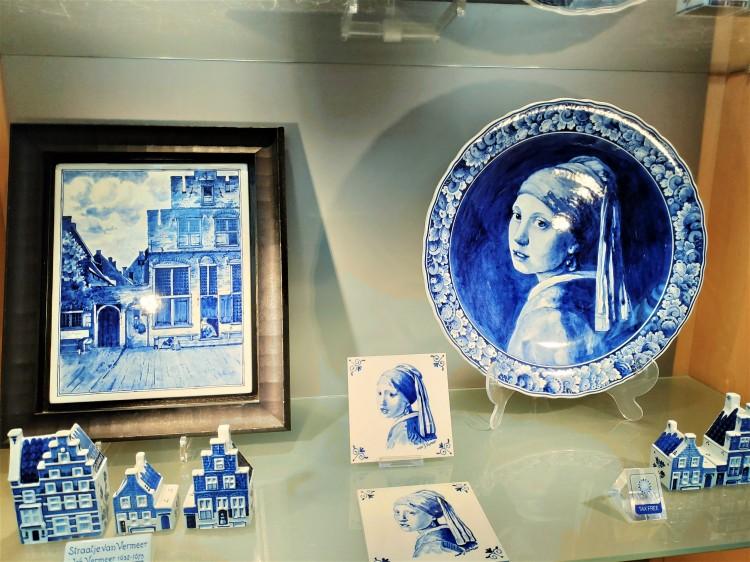 Assiette en Bleu de Delft