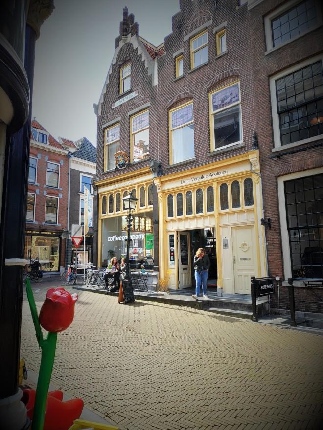 Bâtiment proche de Markt à Delft