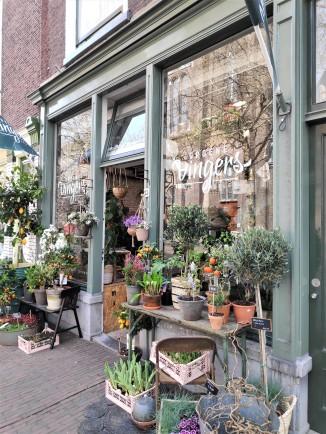 Belle façade sur Beestenmarkt, Delft