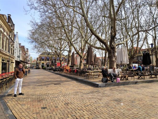 Beestenmarkt, l'ancien marché aux bestiaux de Delft
