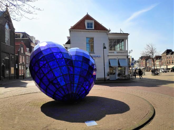 Coeur bleu de Delft