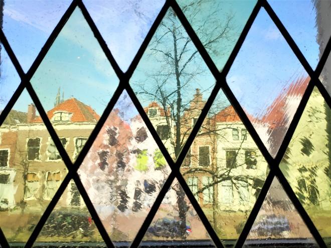 Vue depuis Musée Paul Tetar van Elven à Delft