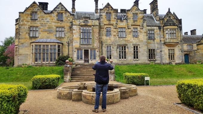 """le """"nouveau château"""" de Scotney Castle"""