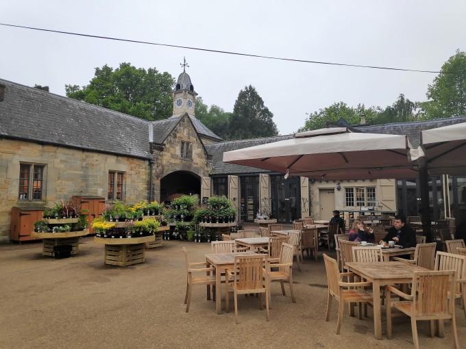 Tearoom et shop de Scotney Castle