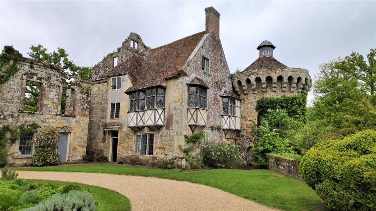 Vestiges de Scotney Castle