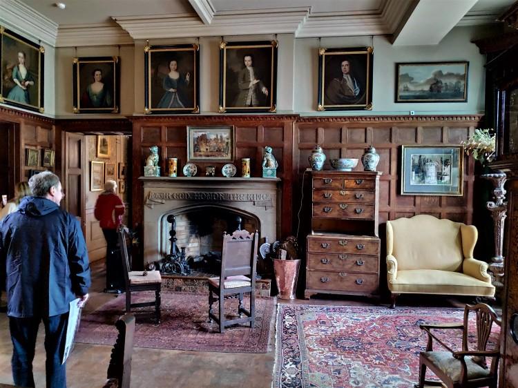 Visite du nouveau château de Scotney Castle
