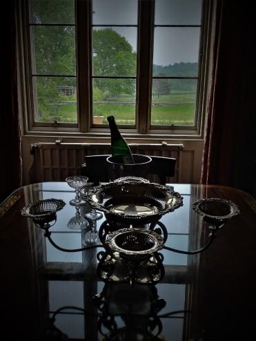 À l'intérieur du nouveau château de Scotney Castle