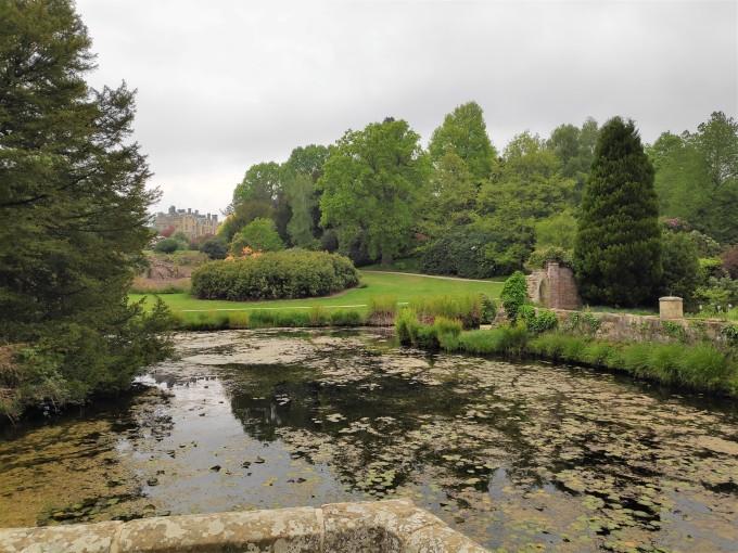Le vieux château de Scotney Castle