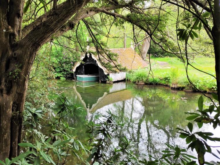 Boat house à Scotney castle