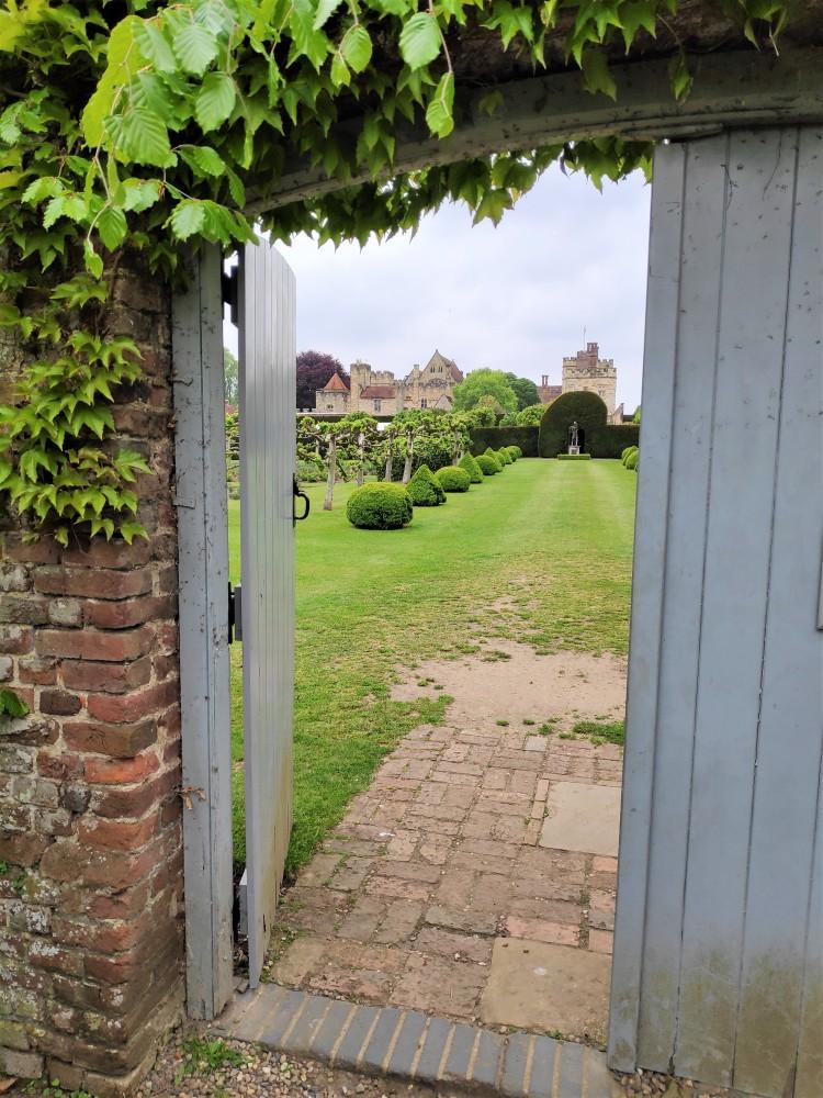 Entrée des jardins de Penshurst