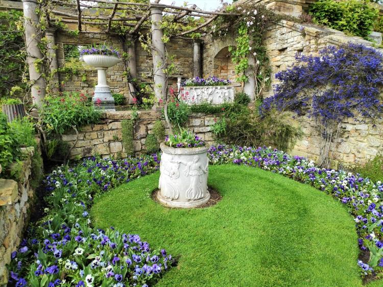 Les jardins de Hever Castle - Kent