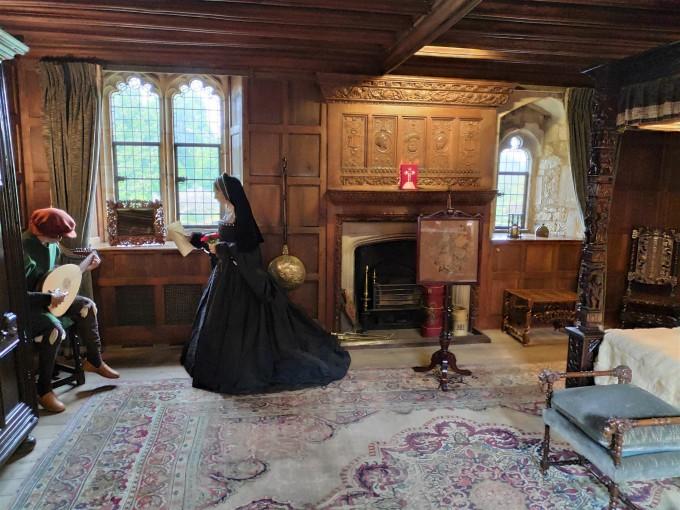 À l'intérieur du château de Hever - Kent - Angleterre