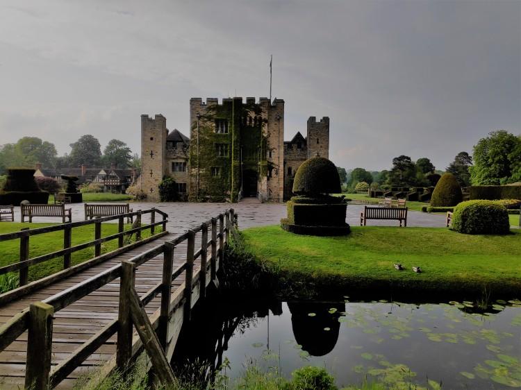 Hever Castle après la pluie