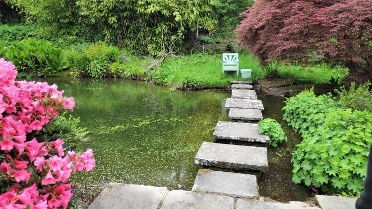 Le petit étang où Churchill aimait à y réfléchir