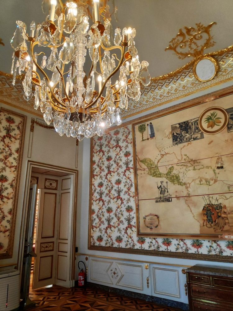 Rez de chaussée du Château de seneffe