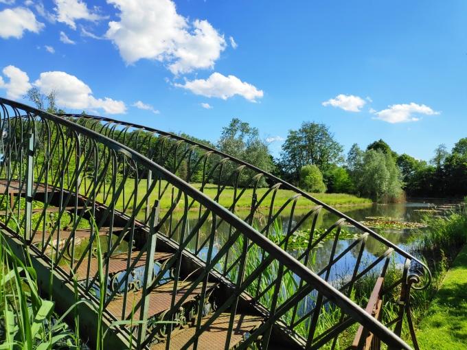 Pont romantique au Domaine de Seneffe
