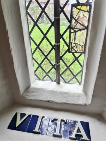 Dans la tour de Sissinghurst