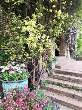 Au pied de la tour de Sissinghurst