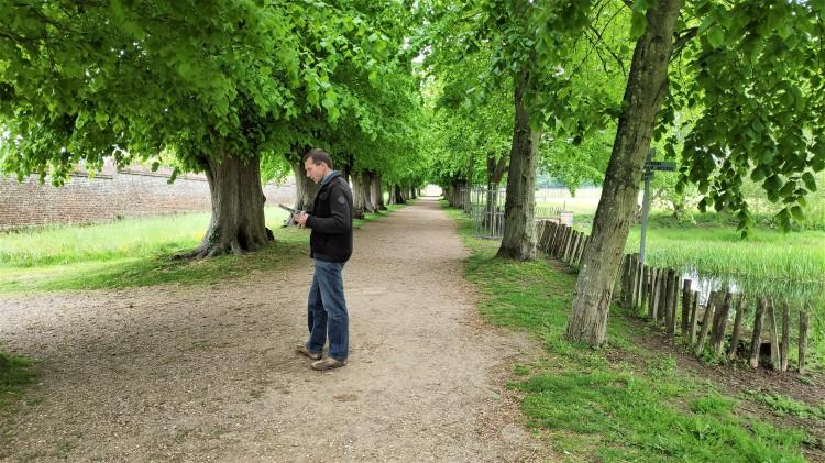 À l'entrée de Penshurst Place and Gardens