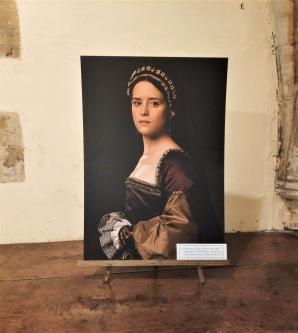 Claire Foy alias Anne Boleyn